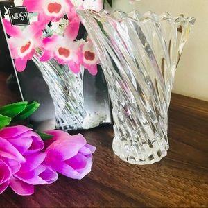 """MIKASA Crystal Bud Vase 5"""""""